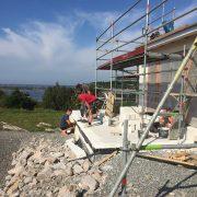 Nybyggnation i Särö